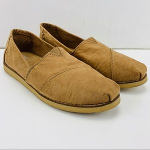 Toms Alpargata Crepe Suede Slip On Sneaker